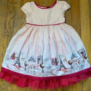 babyGap Toddler Girls Paris Dress Size 2 Years